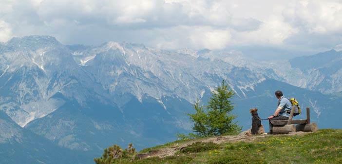 Vistas desde Zirbenweg