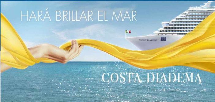 Costa ofrece las mejores condiciones en los itinerarios del 2015 del nuevo COSTA DIADEMA
