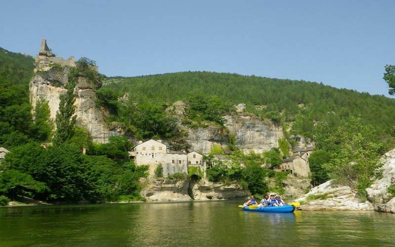 Canoa gorges Tarn
