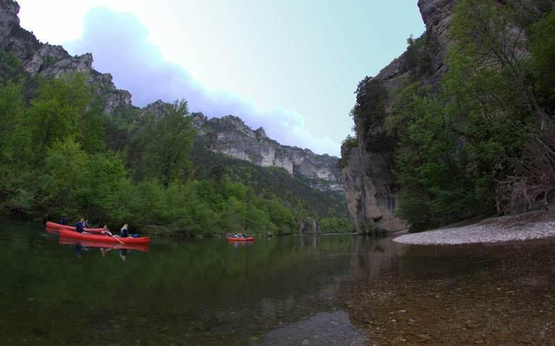 Desfiladero gorges del Tarn